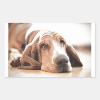 Bassett Hound Puppy Dog Sticker