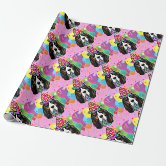 Bassett Hound Wrapping Paper