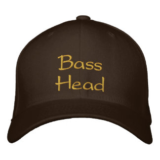 BassHead Embroidered Hat