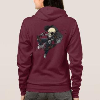 BassHead Skull Hoodie