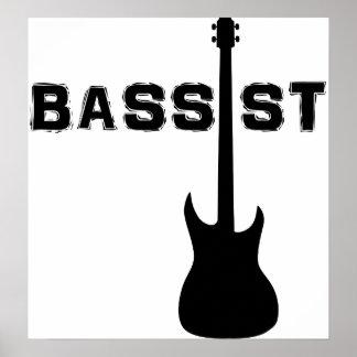 Bassist Poster