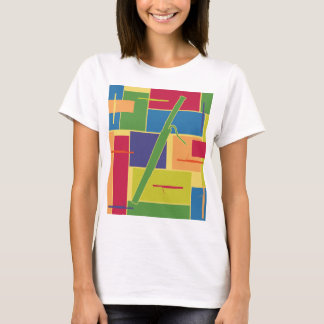 Bassoon Colorblocks Spaghetti Tank