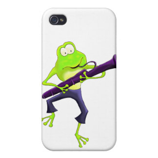 Bassoon Frog iPhone 4/4S Covers