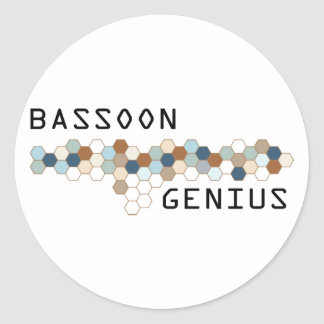 Bassoon Genius Sticker