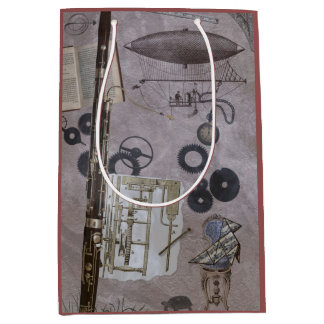 Bassoon or Later Steampunk Carnival Medium Gift Bag
