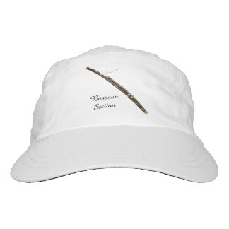 Bassoon Section Customizable Text Headsweats Hat