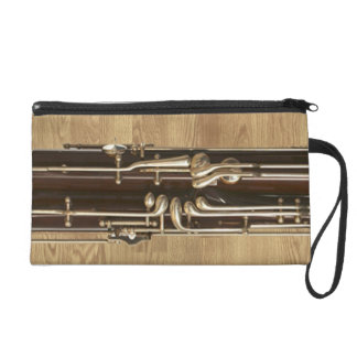 Bassoon Sections on Wood Effect Wristlet