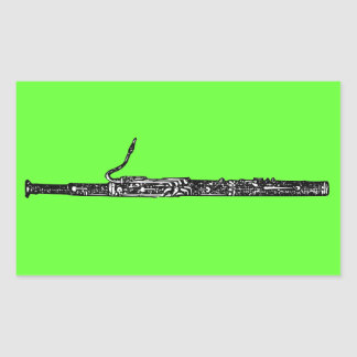 Bassoon Sticker