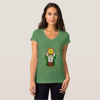 Bast Ancient Ladies V-Neck Jersey T-Shirt