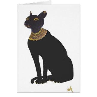 Bast Egyptian Goddess of Love Card