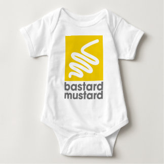 Bastard Mustard Baby Bodysuit