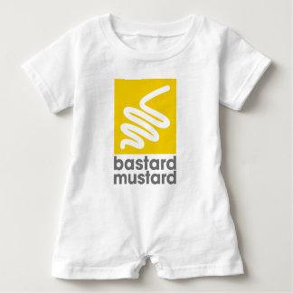 Bastard Mustard Baby Romper