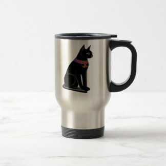 Bastet Cat Travel Mug
