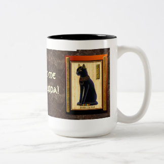 """Bastet, Egyptian Cat God"" Mugs & Cups"