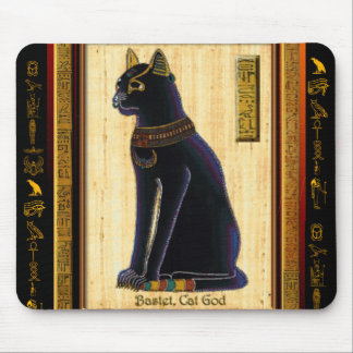 BASTET Egyptian Cat Mouse Pad