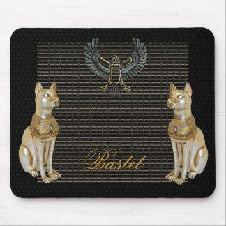 Bastet Egyptian Goddess Cat Mouse Pad