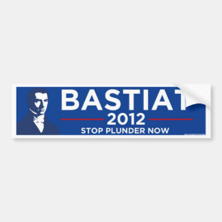 Bastiat 2012 bumper sticker