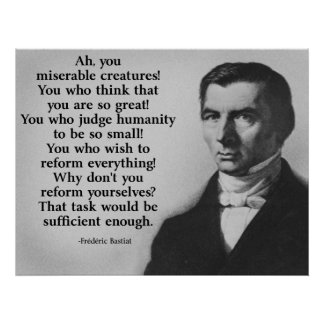 Bastiat Reform Poster