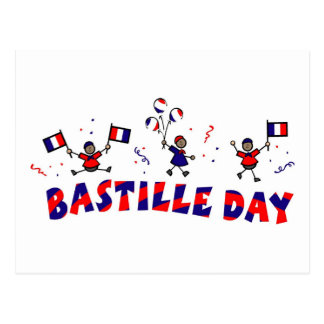 Bastille Day Gifts and Tees Postcard