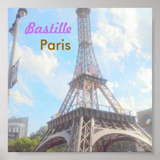 Bastille Paris poster