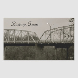 Bastrop, Texas Old Iron Bridge Sticker