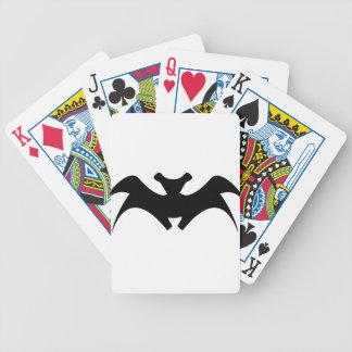 Bat #4 bicycle playing cards