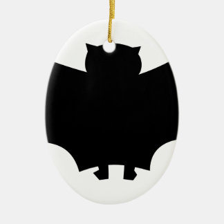 Bat #6 ceramic ornament