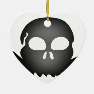 Bat #7 ceramic ornament