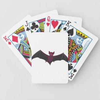 Bat #9 bicycle playing cards
