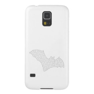 Bat - Black Dots - Snow Style Case For Galaxy S5
