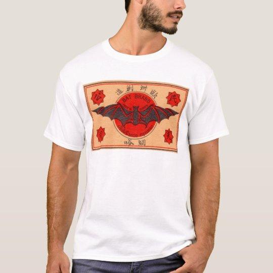 Bat Brand Match Label T-Shirt