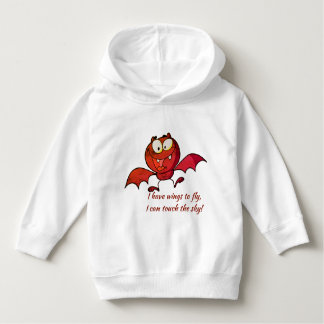 Bat can Fly and touch sky Boy sweatshirt