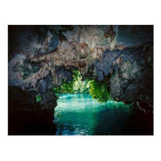 Bat Cave In Airai, Palau, Micronesia Postcard