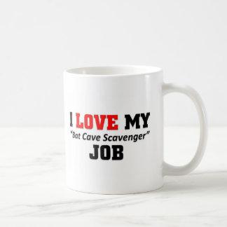 Bat cave scavenger Job Basic White Mug