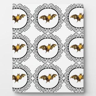 Bat Circles Plaque