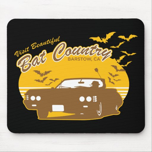 Bat Country - we can't stop here Mousepads