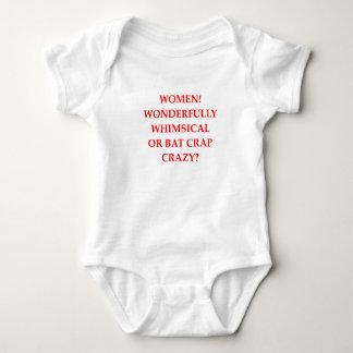 bat crap crazy baby bodysuit