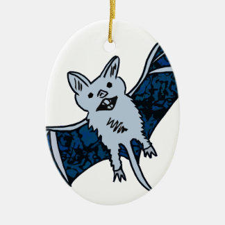 Bat Creature Ceramic Ornament