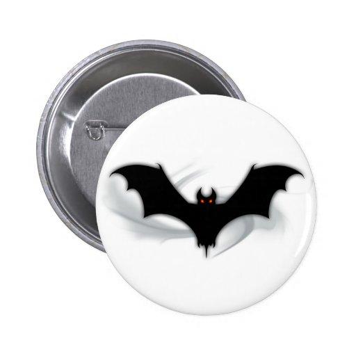 Bat Demon Pinback Button