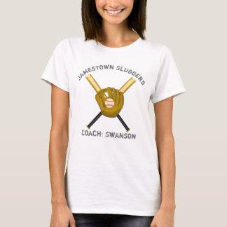 Bat & Glove Womens T-shirt