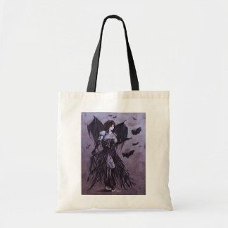 Bat Goddess Fantasy Art - Tote Bag