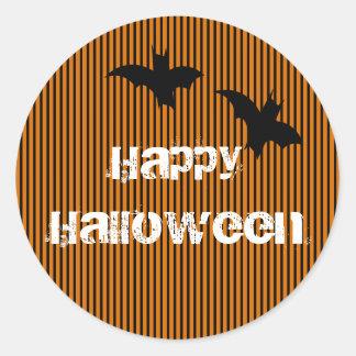 Bat Happy Halloween Sticker