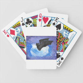 Bat In Flight Bicycle Playing Cards