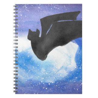 Bat In Flight Notebooks