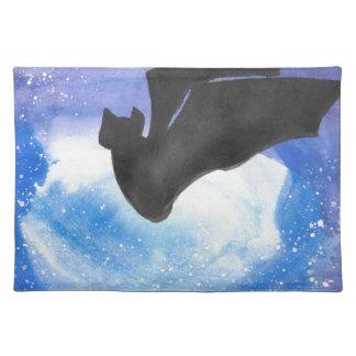 Bat In Flight Place Mat