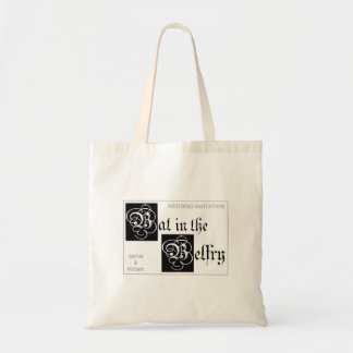 Bat in the Belfry tote bag