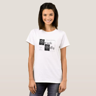 Bat in the Belfry women's white tshirt
