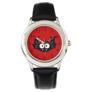 Bat Kid's Stainless Steel Wrist Watch
