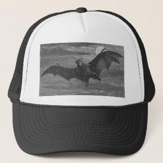 Bat Lithograph Trucker Hat