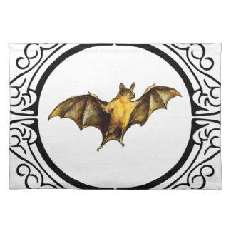 Bat loops fancy placemat